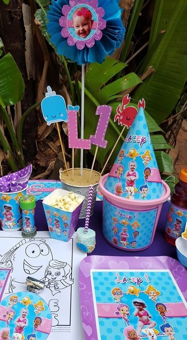 Kiddies Theme Parties offers complete Bubble Guppies party packages so you don't have to worry about a thing