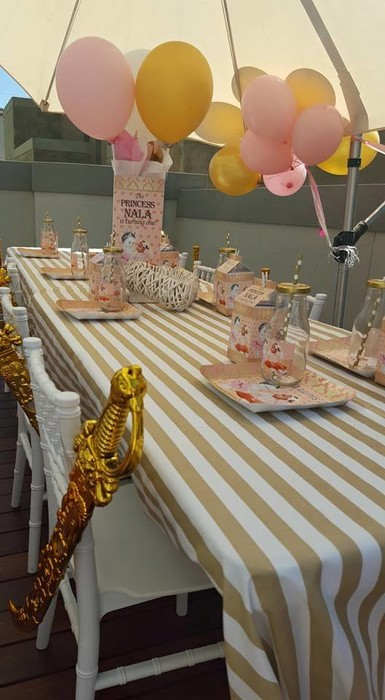 Our custom made Princess party supplies include personalised pvc banners, party packs, movie boxes and more.