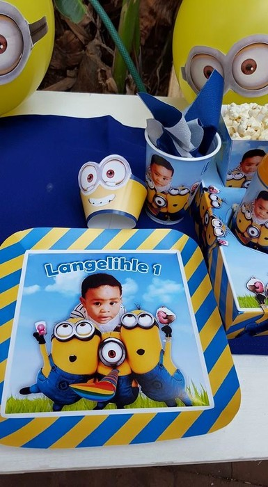 Kiddies Theme Parties not only make personalised baby shower decorations, we can also do the entire party setup for you.