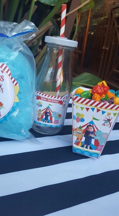 We make birthday party decor for popular themes such as Carnival, Doc Mcstuffins, Ferrari and more.