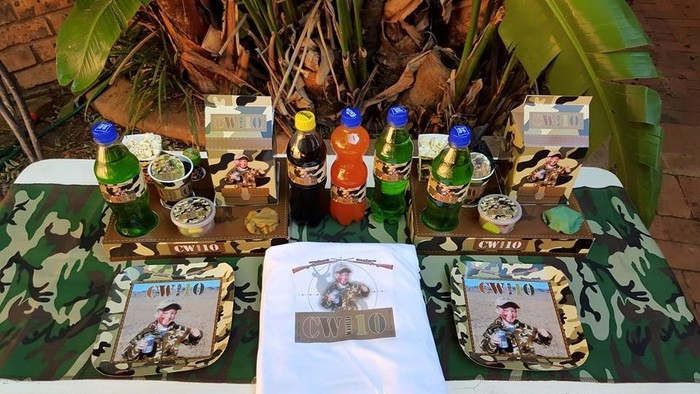We are a Gauteng based events and party planning company specialising in custom made Hunting party supplies.