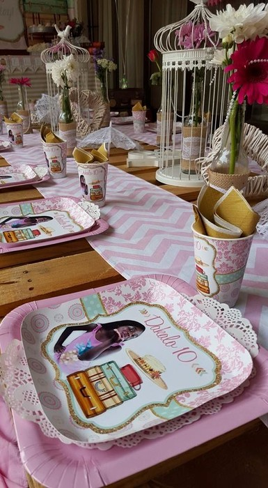 We are an events and party planning company specialising in custom made Vintage Picnic party supplies.