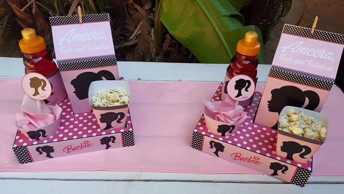 We are a Gauteng based events and party planning company specialising in custom made Vintage Barbie party supplies.