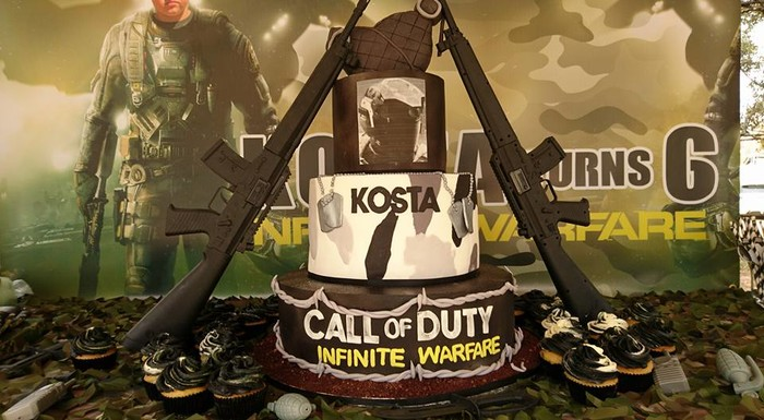 Personalized Call of Duty party supplies and Call of Duty birthday decor for sale.