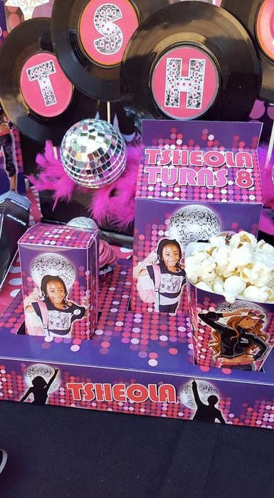 Personalized Disco party supplies and Disco birthday decor for sale.