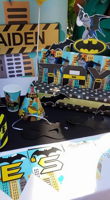 Kiddies Theme Parties not only make personlised party decor, we can also do the entire party setup for you.