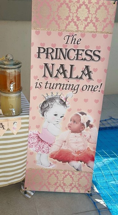 Kiddies Theme Parties hire out gazebos, picnic tables, umbrellas and photo boards for your Princess party.