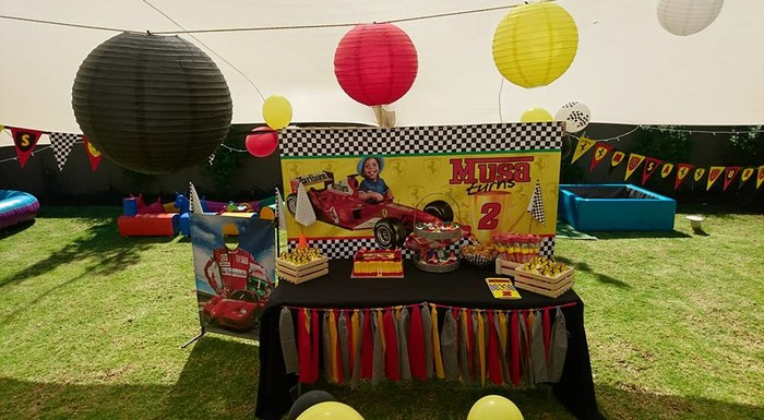 We are an events and party planning company specialising in custom made Ferrari party supplies.