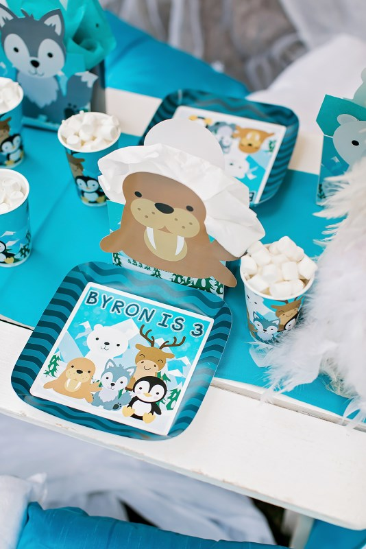 Byron's 3rd Birthday Arctic Animals Party