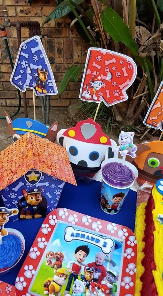 Baby Shower Decor Cape Town ~ Paw patrol party supplies decor gauteng mpumalanga