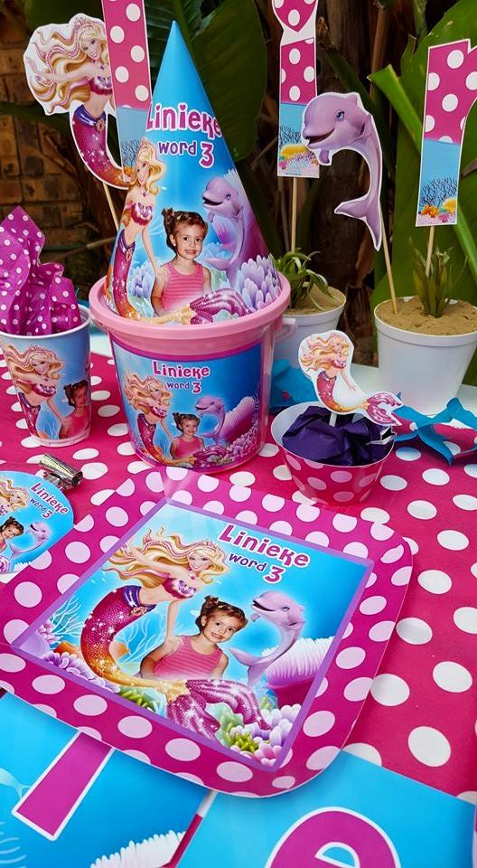 Barbie In A Mermaid Tale Party Supplies