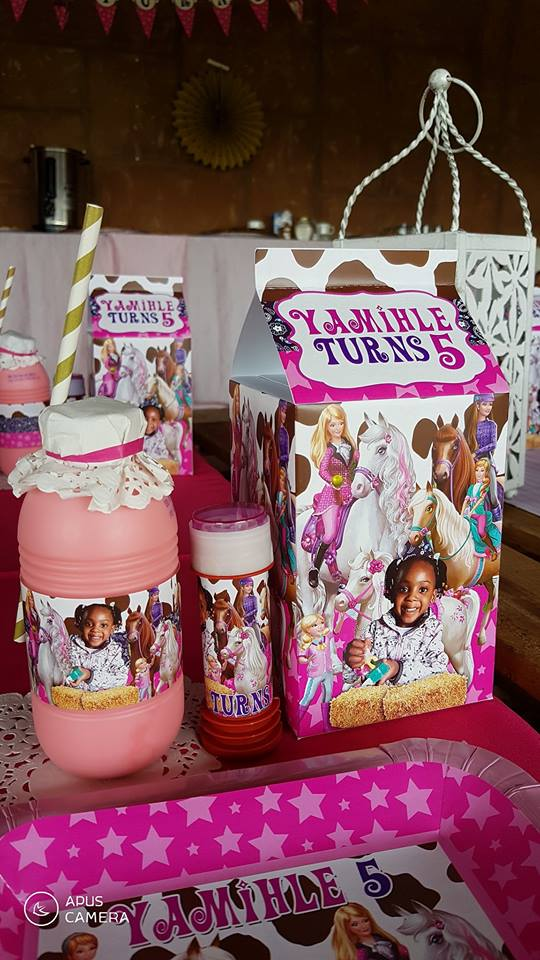 Barbie Horses (Country and Western) party supplies