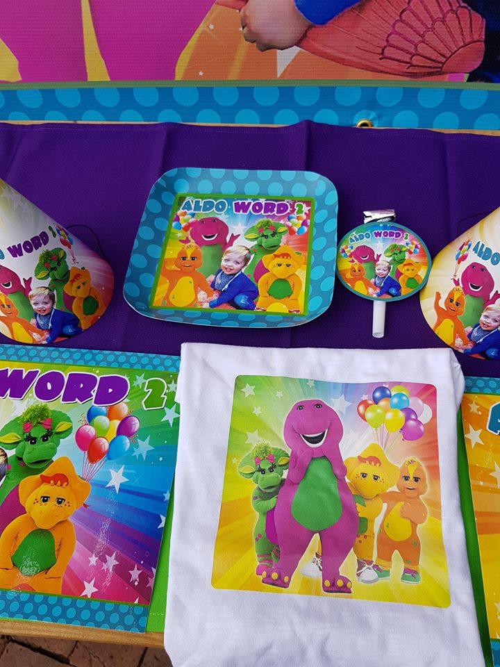 Barney Party Supplies Decor Gauteng Cape Town Durban