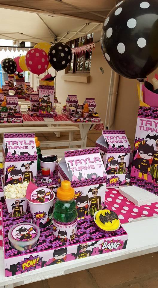 Batgirl Party Supplies Decor Gauteng Mpumalanga Cape Town
