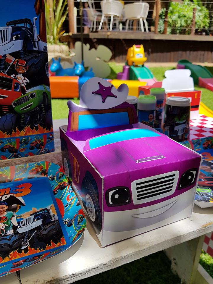 Blaze Amp The Monster Machines Party Supplies