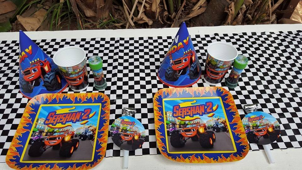 Blaze & the Monster Machines Party Supplies