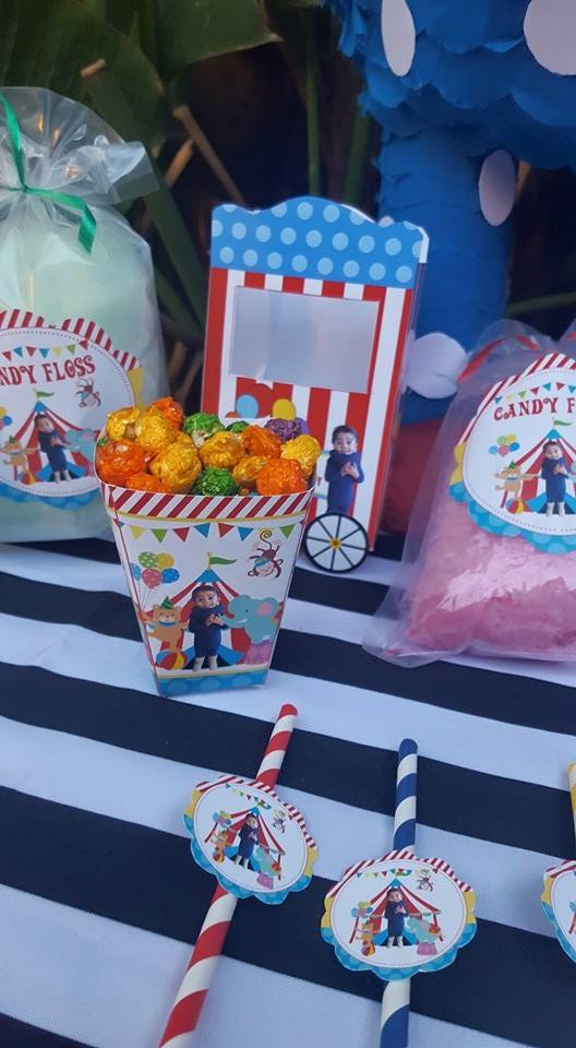 Carnival Circus party supplies