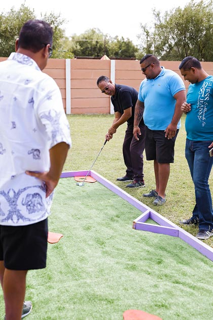 Mobile Putt Putt Adventure Golf to hire in Gauteng
