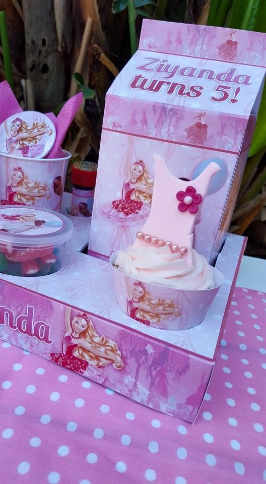 Ballerina themed party supplies