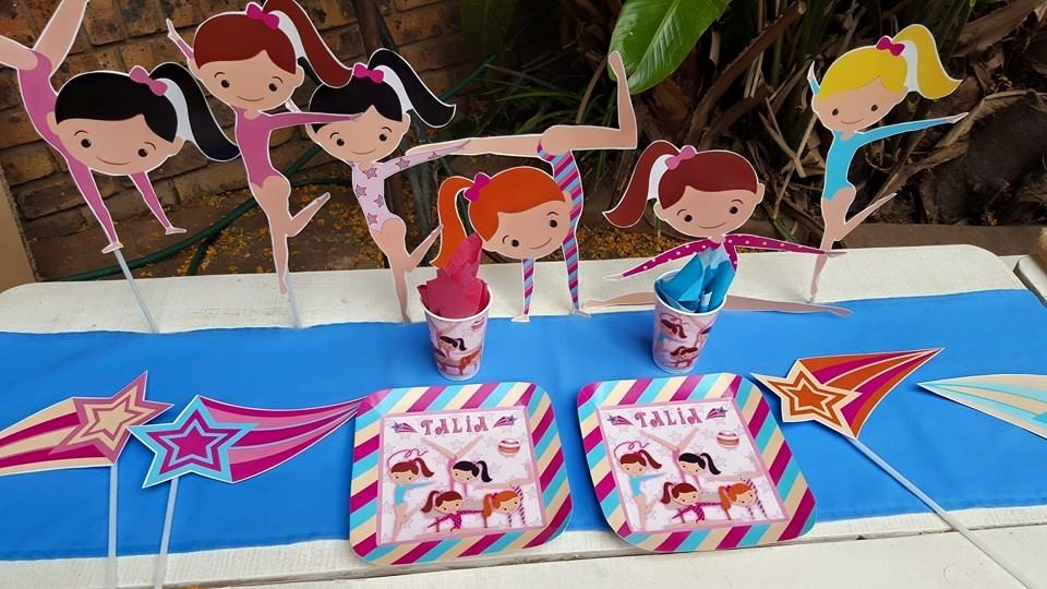 Gymnastics Party Supplies