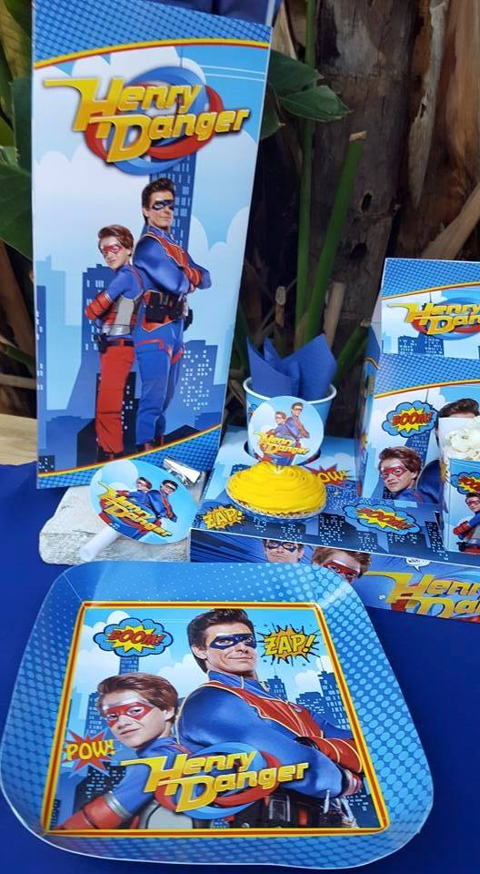 Henry Danger themed party supplies