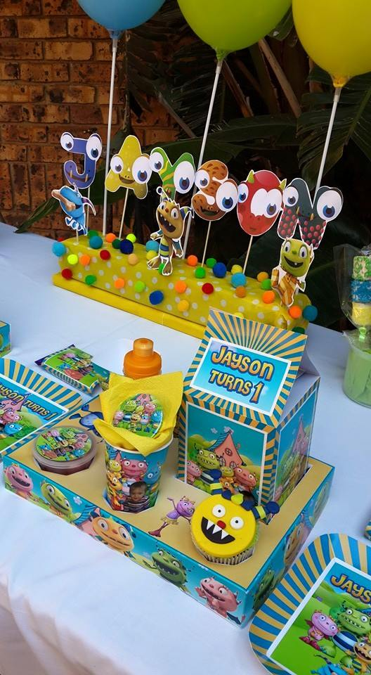 Henry Hugglemonster party supplies