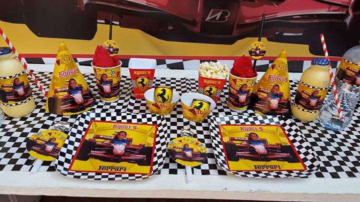 Ferrari Party Supplies