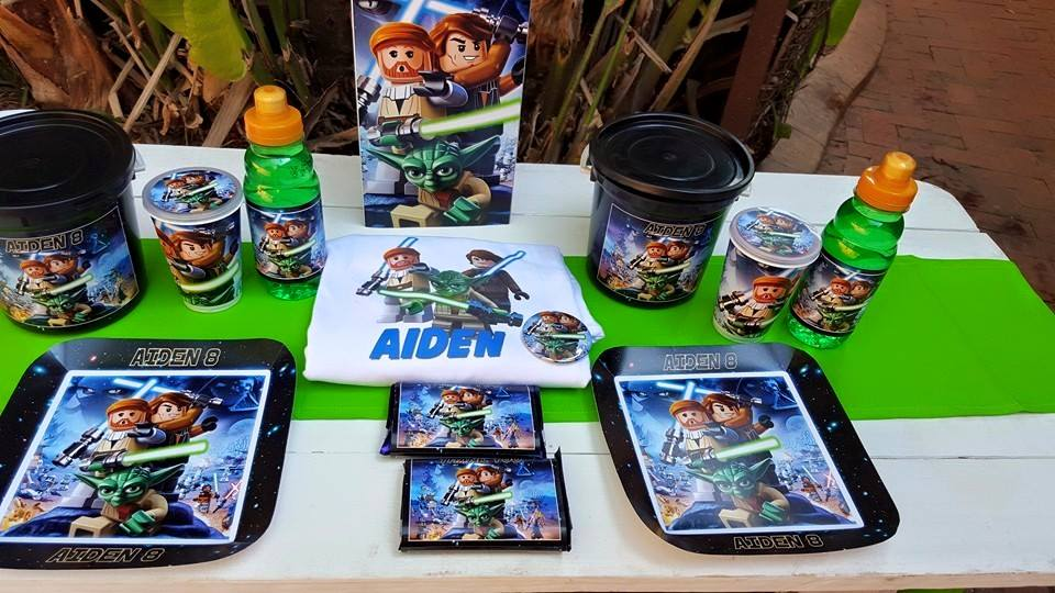 kiddies theme parties can also handle your event catering such as party platters coffee stations - Star Wars Party Decorations