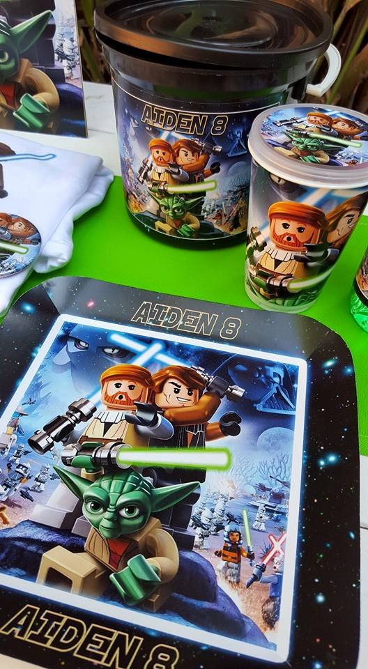 Personalized Lego Star Wars Party Supplies made on order