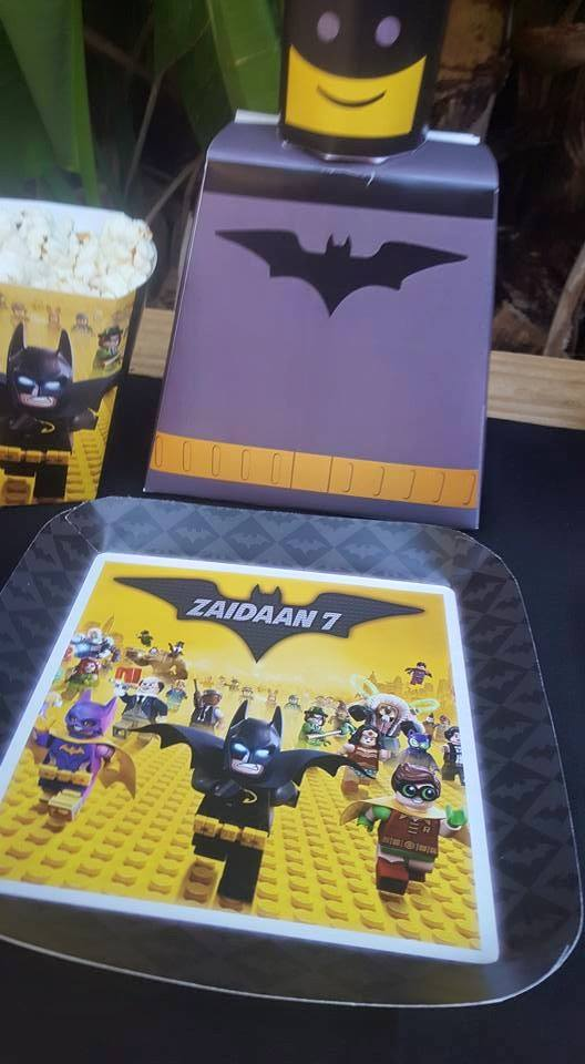Lego Batman party decor