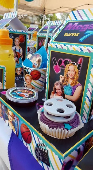 Liv and Maddie Party Supplies for Megan's 7th Birthday