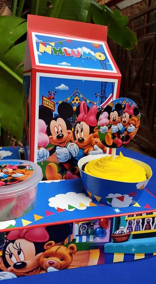 Mickey & Minnie Party Supplies
