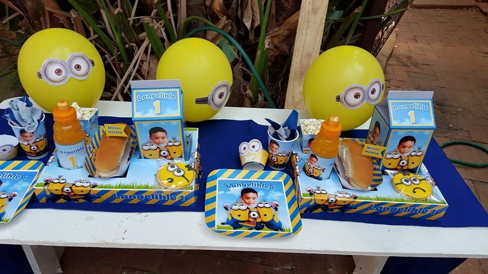 Despicable Me Party Decor