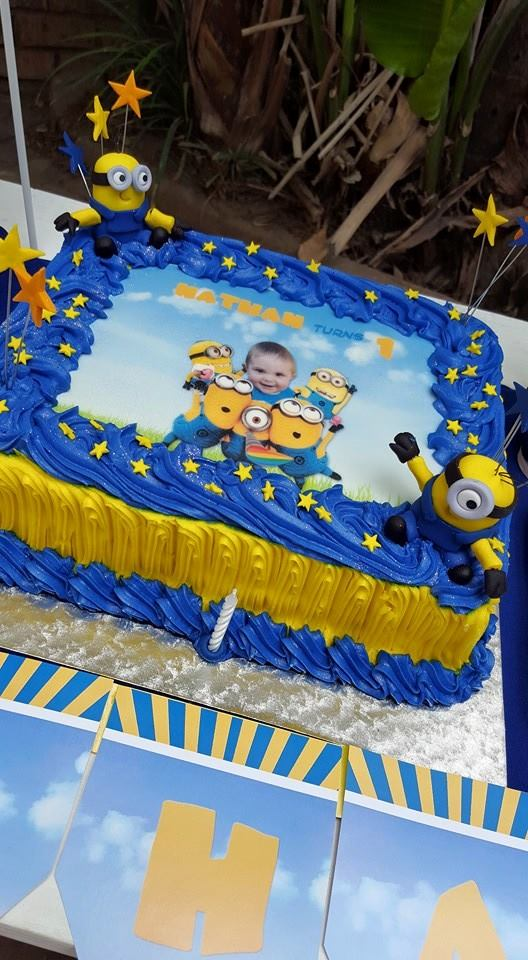 Minion Birthday Cake Cape Town Image Inspiration of Cake and
