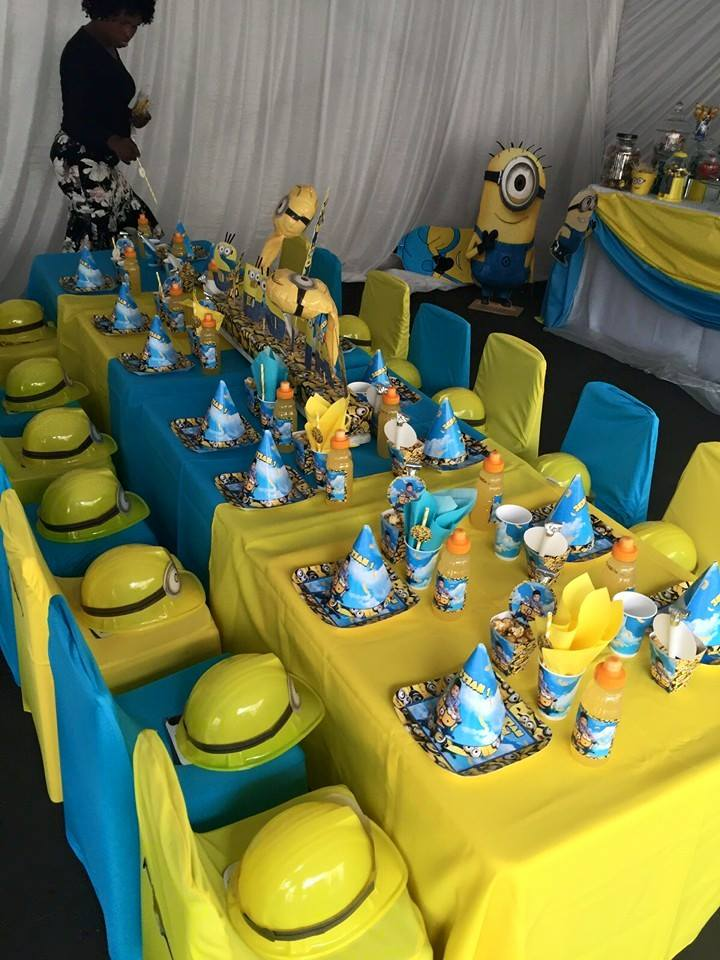 One in a Minion 1st Birthday Party Supplies Decor Gauteng