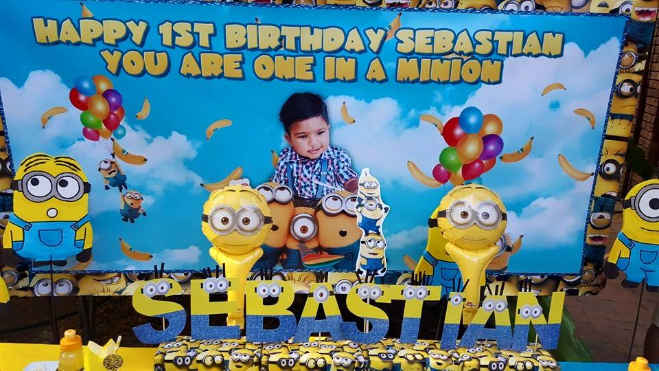 One in a Minion 1st Birthday Party Supplies