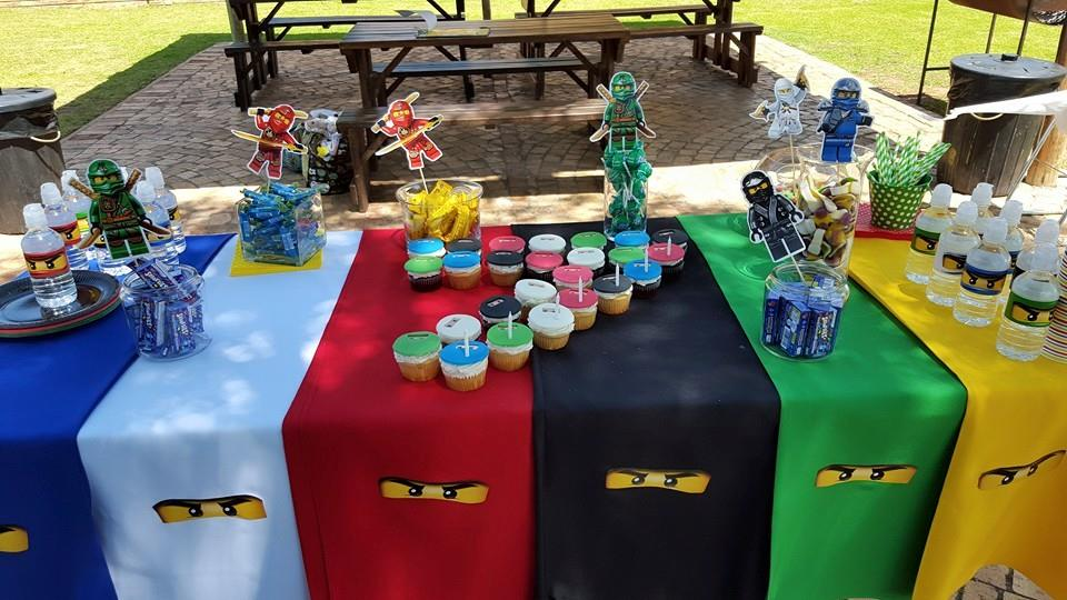 Ninjago party supplies for Decoration ideas 7th birthday party