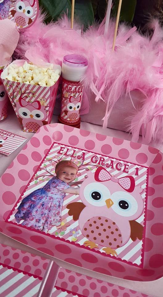1st Birthday Owl Party Supplies