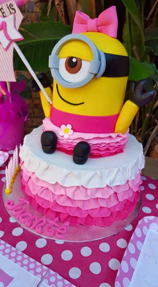 Pink Minions Party Supplies