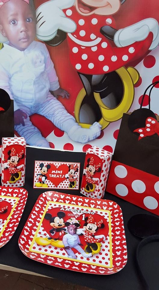 Polka Dot Minnie Mouse Party Supplies