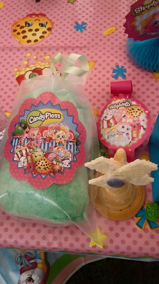 Our Shopkins party supplies and services