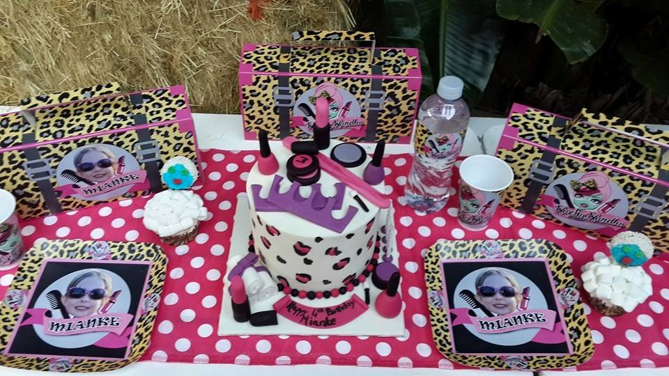 Spa Party Supplies for Mianke's Pamper Party