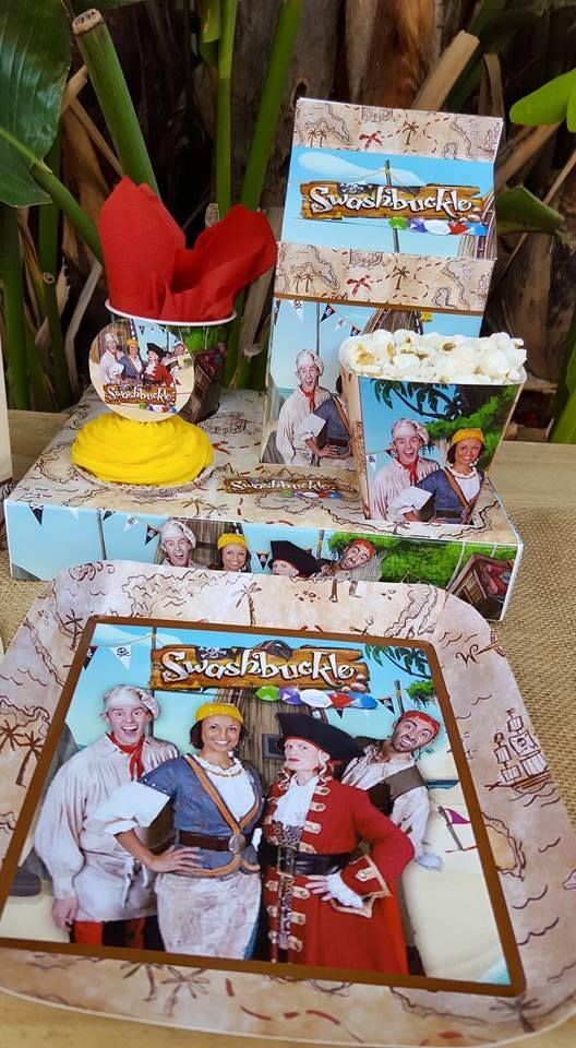 Swashbuckle party supplies