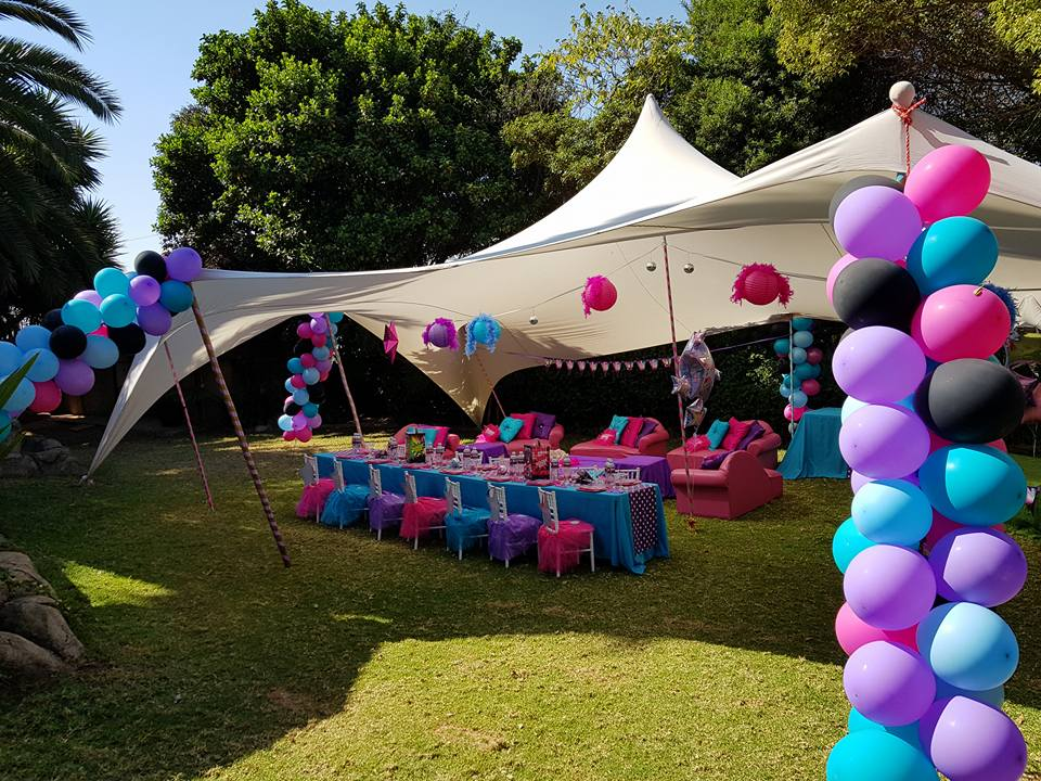Party Packages Party Setups Birthday Party Ideas South Africa - Childrens birthday party ideas east london
