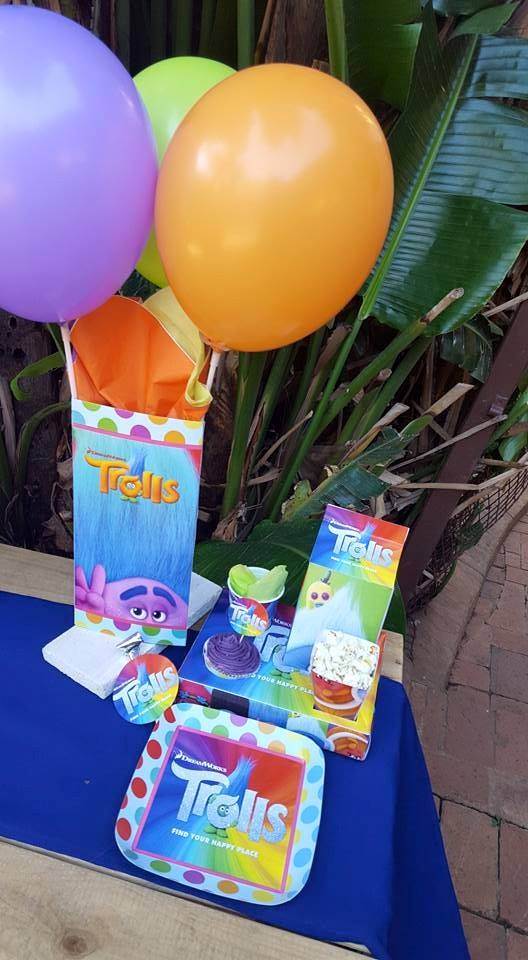 Trolls Party Supplies Decor Gauteng Mpumalanga Cape Town