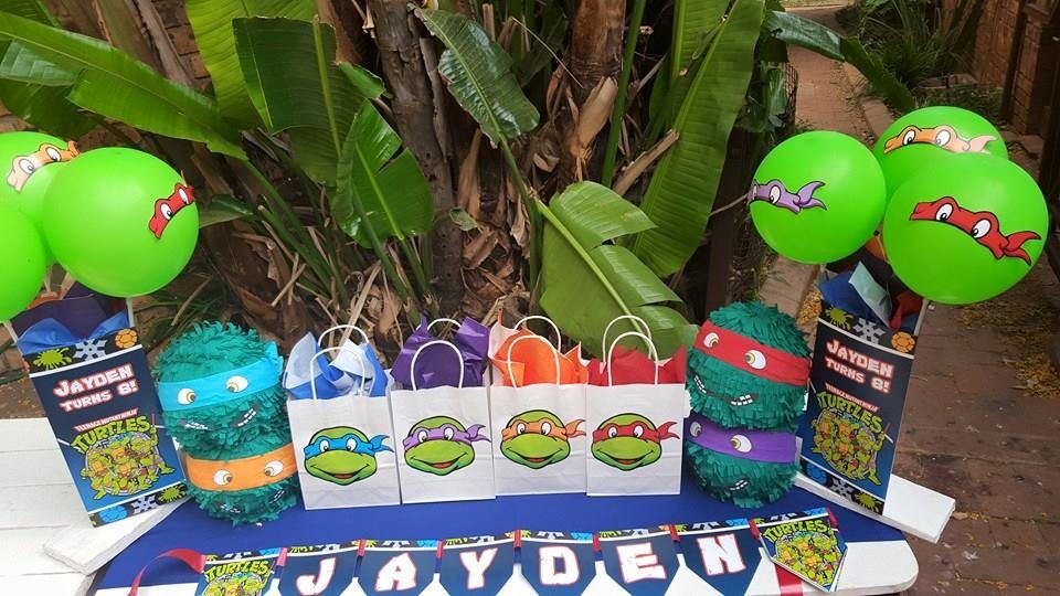 Teenage mutant ninja turtles party supplies for Tmnt decorations