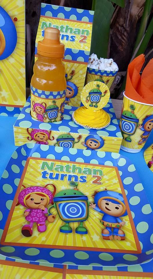 Team Umizoomi party supplies and party ideas