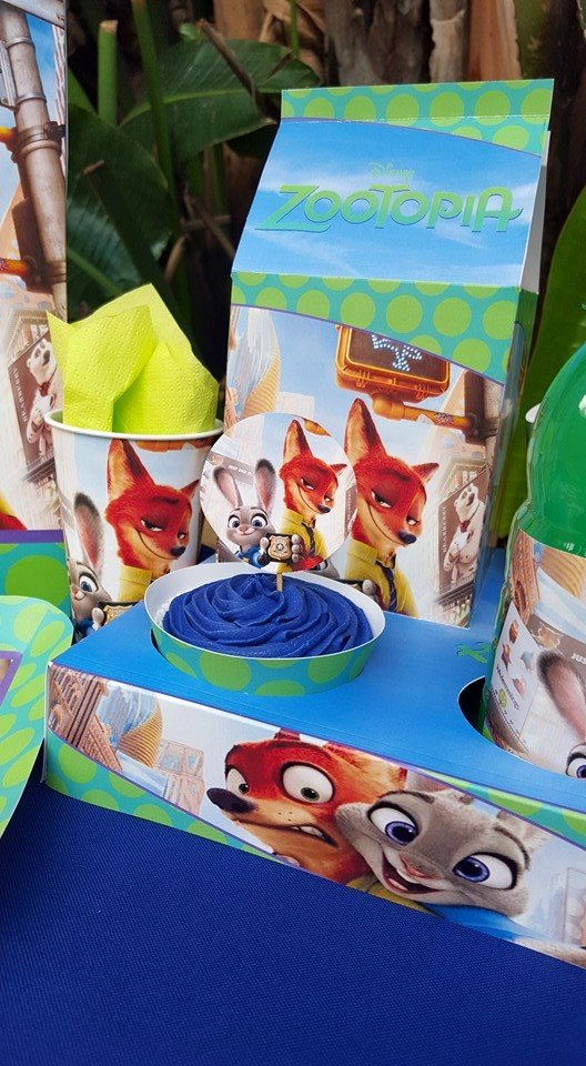 Zootropolis party decor & supplies